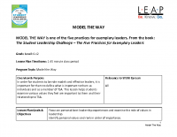 FREE Resources – 5 Student Leadership Lessons