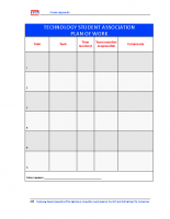 Forms – Plan of Work