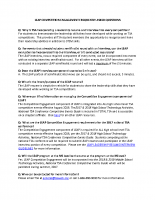 LEAP Competition Engagement FAQ