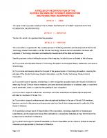 FLTSA Articles of Inc.