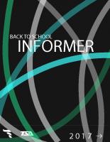 September 2017 TSA Informer